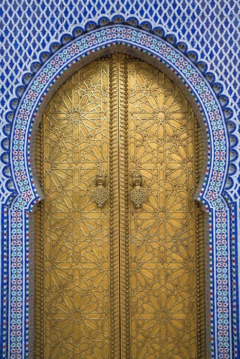 Vinylová Fototapeta Královský palác ve Fezu v Maroku - Vinylová Fototapeta
