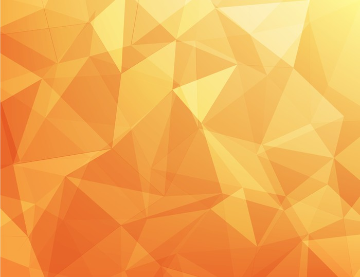 Fotomural Abstracta Fondo Naranja Y Amarillo • Pixers