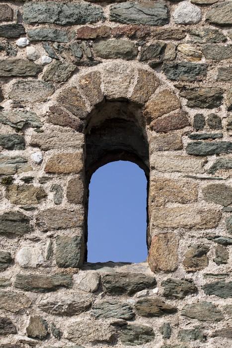 Vinylová Tapeta Stará okna hrad - Evropa