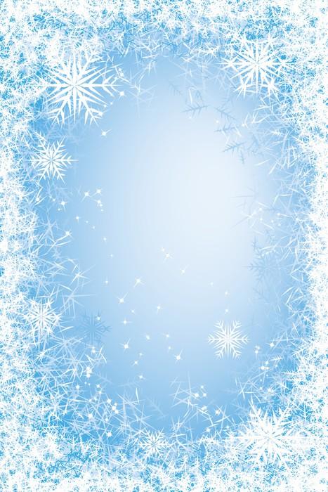 Vinylová Tapeta Frost rám - Mezinárodní svátky
