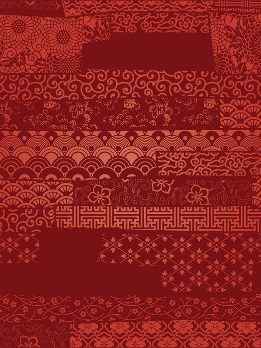 papier peint vector wallpaper oriental pixers nous. Black Bedroom Furniture Sets. Home Design Ideas