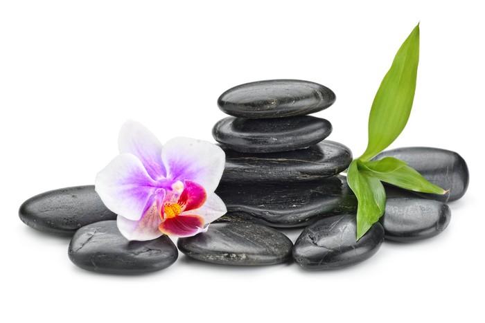 Vinylová Tapeta Zen kameny - Životní styl, péče o tělo a krása