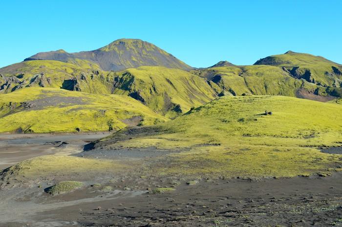 Vinylová Tapeta Island krajiny, hory - Evropa
