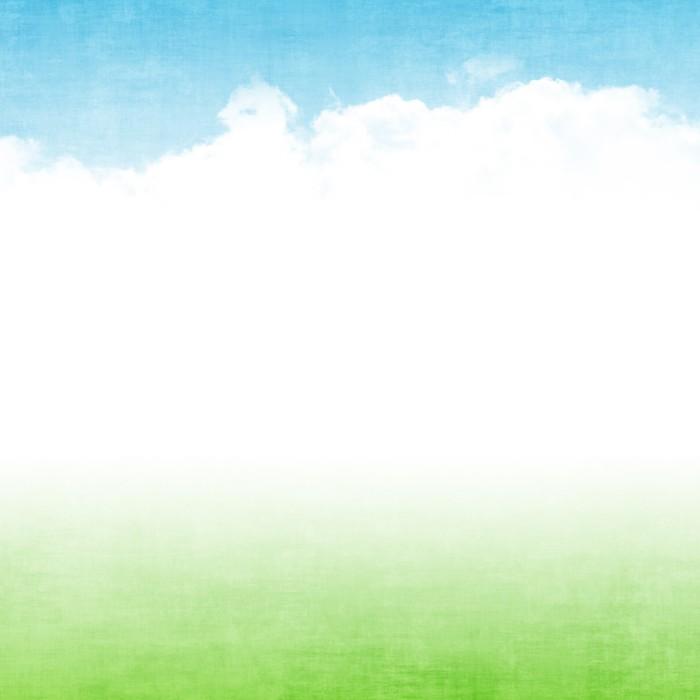 Vinylová Tapeta Grunge abstraktní léto pozadí - Nebe