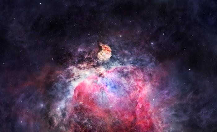 Vinylová Tapeta Prostor mlhovina v Orionu - Meziplanetární prostor