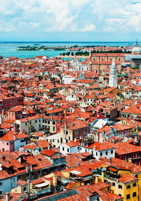 Vinilo para Armario Vista panorámica de Venecia de San Marcos ...