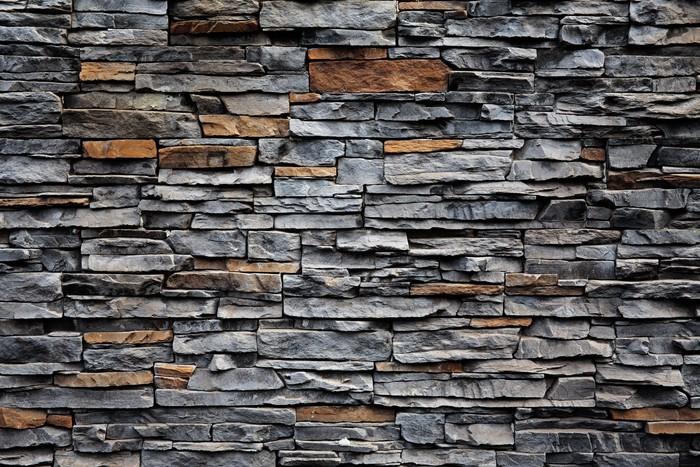 tableau sur toile vieux mur de briques de pierre pixers nous vivons pour changer. Black Bedroom Furniture Sets. Home Design Ideas