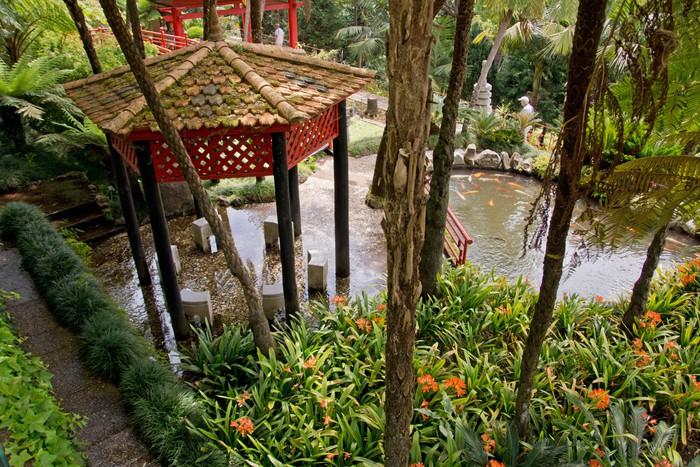 Vinylová Tapeta Monte Palace Tropical Garden - Evropa