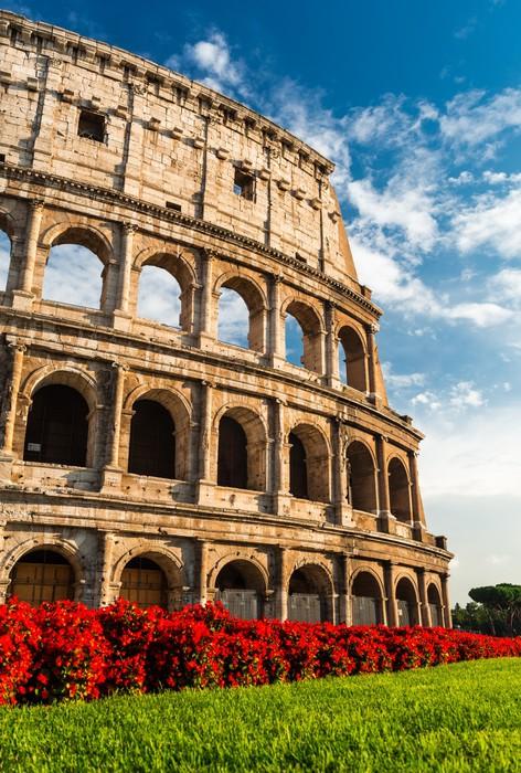 Carta da parati colosseo roma pixers viviamo per il for Carta da parati roma