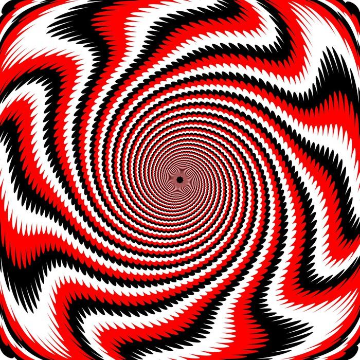 Vinylová Tapeta Design barevné víření rotace pozadí - Témata