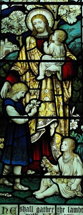 Vinylová Tapeta Ježíš s malými dětmi - Témata