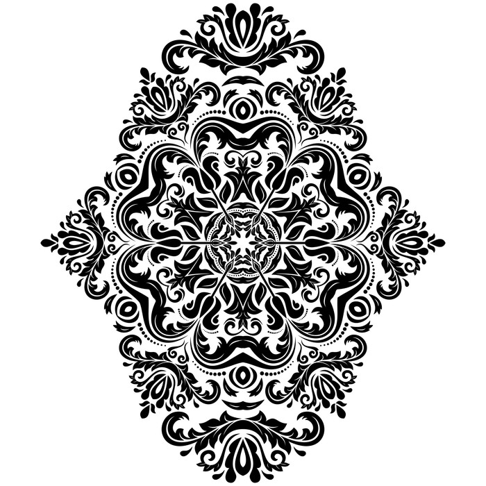 Vinylová Tapeta Bezešvé vzor. Orient pozadí - Pozadí
