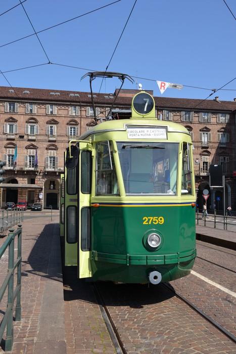 Carta da parati torino tram serie 2700 pixers for Carta parati torino
