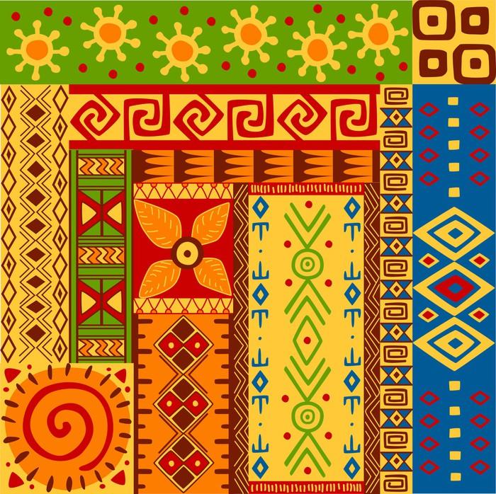 papier peint motifs ethniques pixers nous vivons pour. Black Bedroom Furniture Sets. Home Design Ideas