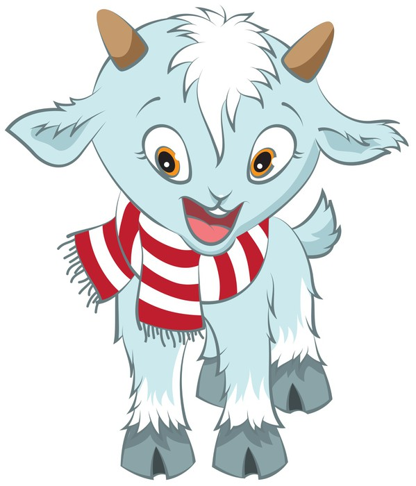 Vinylová Tapeta Vánoční koza symbol 2015 - Mezinárodní svátky
