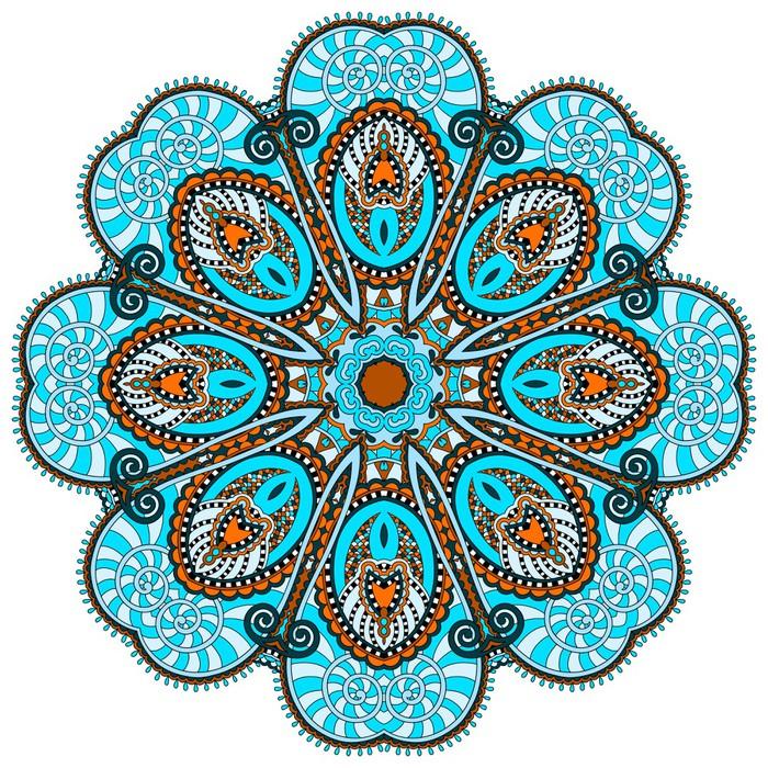 Mandala Circle Decorative Spiritual Indian Symbol Of