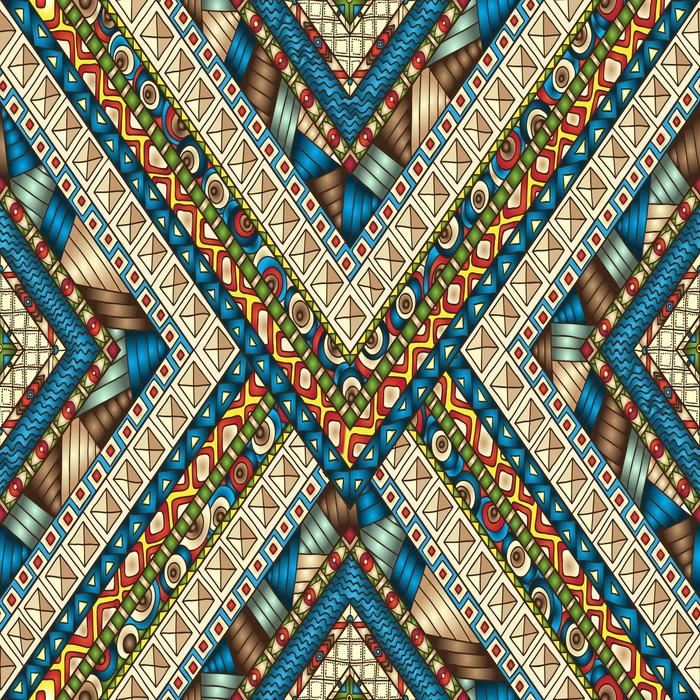 Papier peint tribal losange doddle fond transparent - Papier peint losange ...