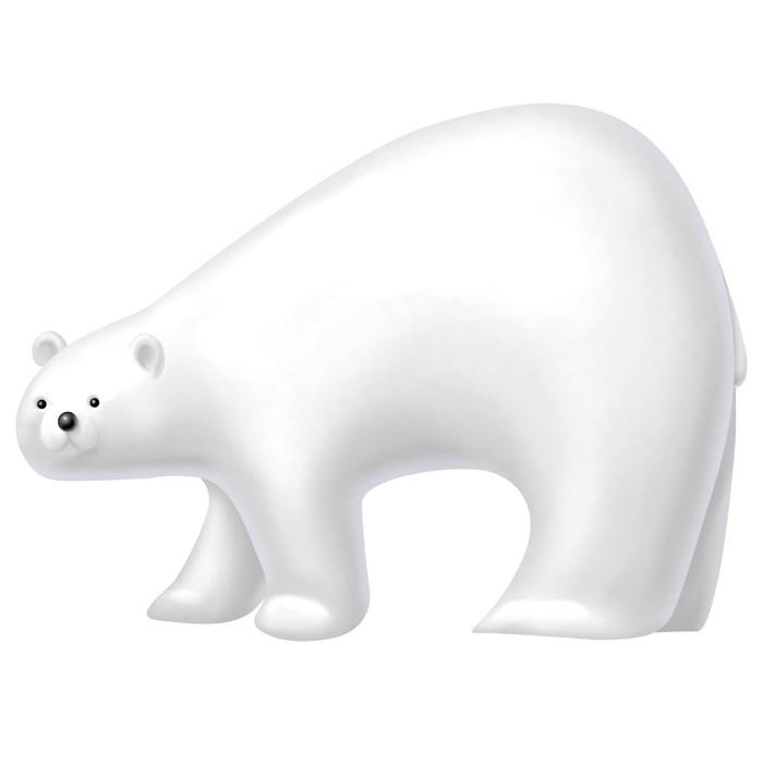 Vinylová Tapeta Lední medvěd - Savci
