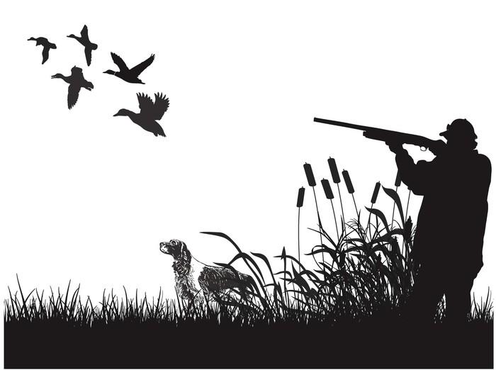 Duck Hunter Vinyl Hunting Sticker, Fishing Decals, Deer Decals, Car Decals,  Window Decals, Hunting Stickers, Fishing Stickers, Window Stickers