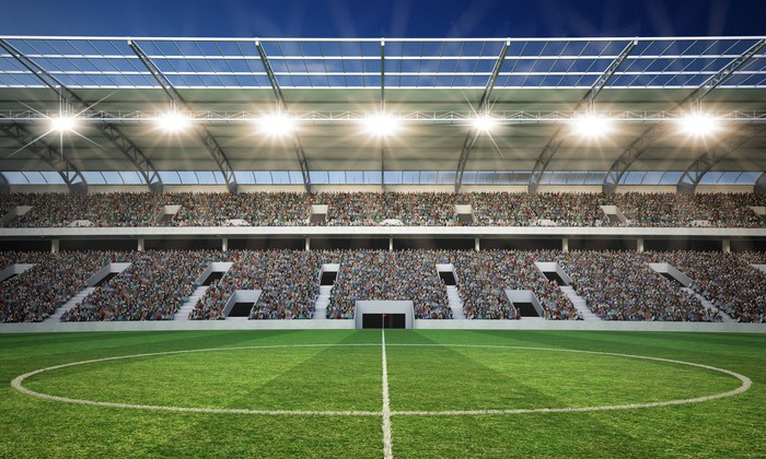 Vinylová Tapeta Stadion Mittellinie 2 - Zápasy a soutěže