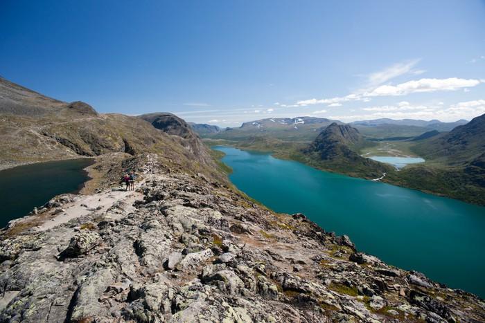 Vinylová Tapeta Besseggenu Ridge v národním parku Jotunheimen, Norsko - Evropa