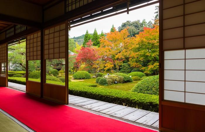Tableau sur toile jardin japonais pixers nous vivons - Tableau jardin japonais ...