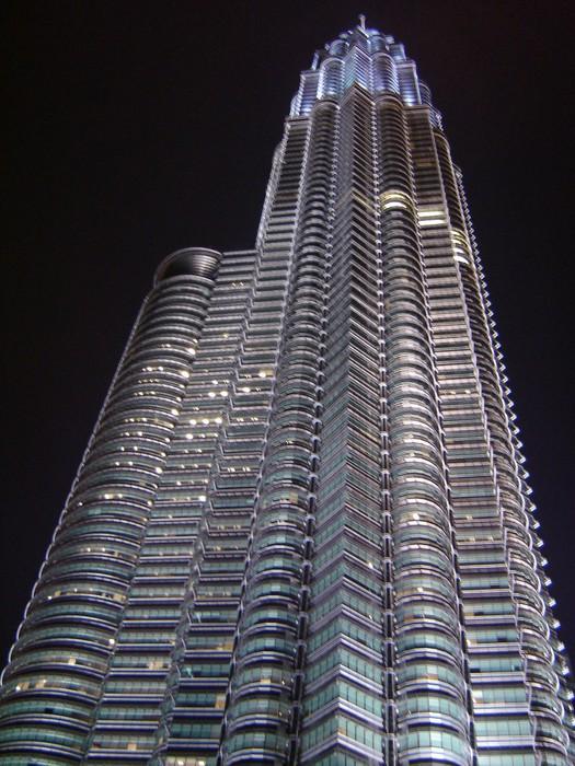 Vinylová Tapeta Zwillingsturm Kuala Lumpur - Obchody