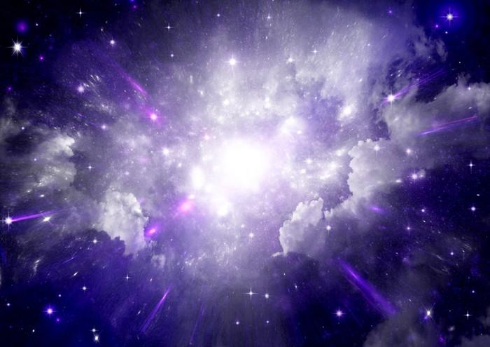 Vinylová Tapeta Hvězdy a planety a galaxie ve volném prostoru - Náboženství