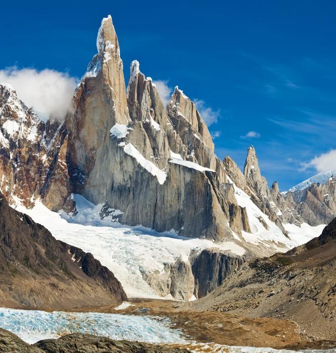 Papier peint cerro torre parc national los glaciares for Parc sauvage 78