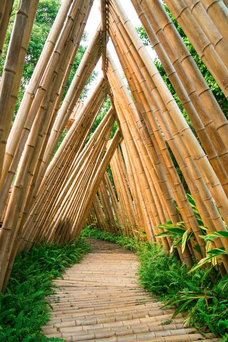 Vinylová Tapeta Bamboo silnice - Jiné
