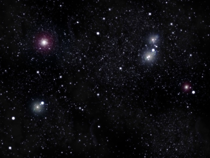 Pixerstick Aufkleber Sterngewölbe - Sterne