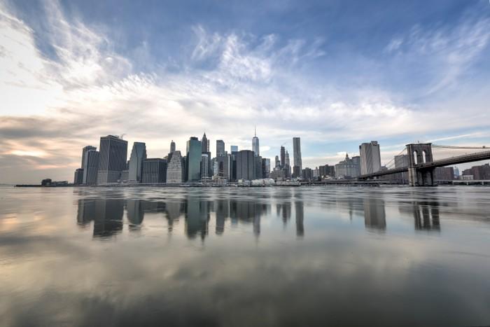 Vinylová Tapeta New York Downtown Skyline - Americká města