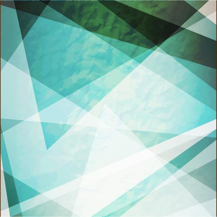 Nálepka Pixerstick Abstrakce Retro grunge trojúhelníky vektorové pozadí - Koníčky a volný čas