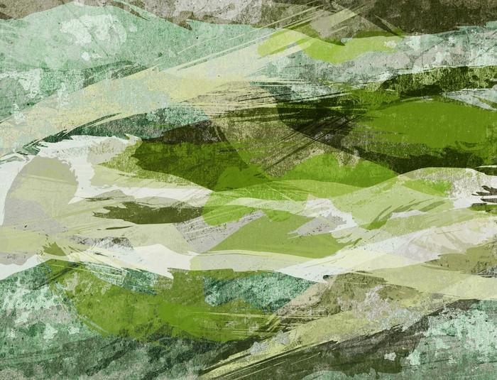 Vinylová Tapeta WaterColor Grunge - Pozadí