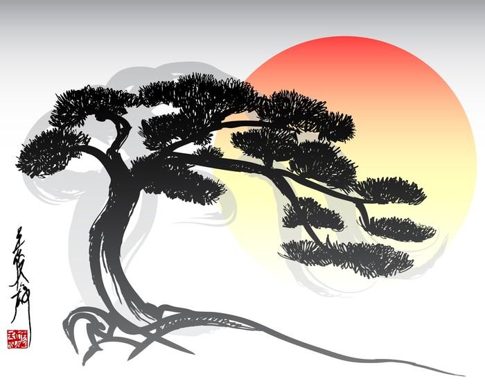 Vinylová Tapeta Bonsai Tree -
