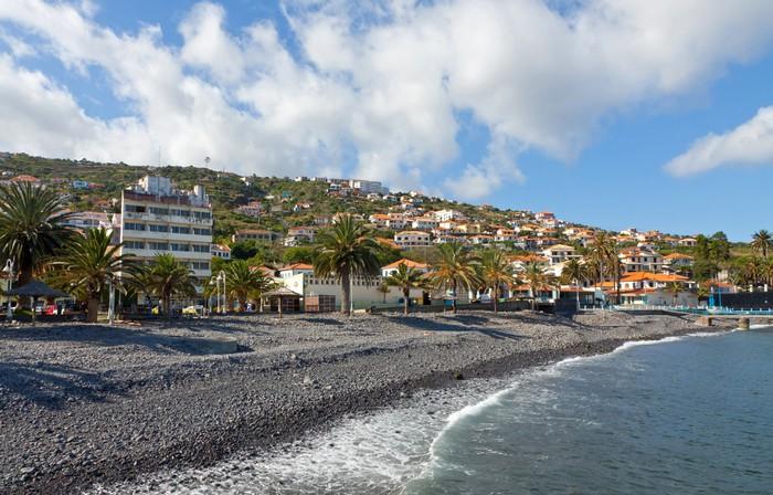 Vinylová Tapeta Pláž v Santa Cruz, ostrov Madeira, Portugalsko - Voda