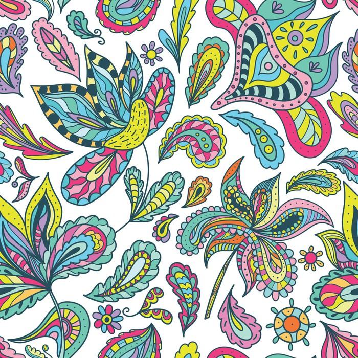 papier peint motif d 39 t avec des motifs indiens pixers nous vivons pour changer. Black Bedroom Furniture Sets. Home Design Ideas