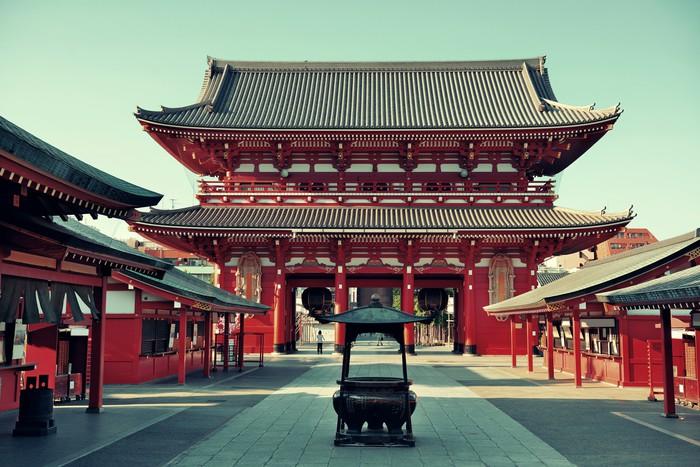 Vinylová Tapeta Tokyo chrám - Veřejné budovy