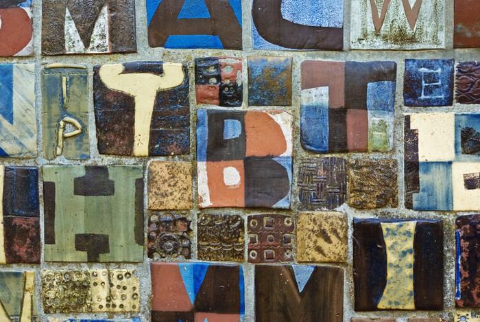 Papel pintado mosaico moderno pixers vivimos para cambiar - Papel pintado mosaico ...