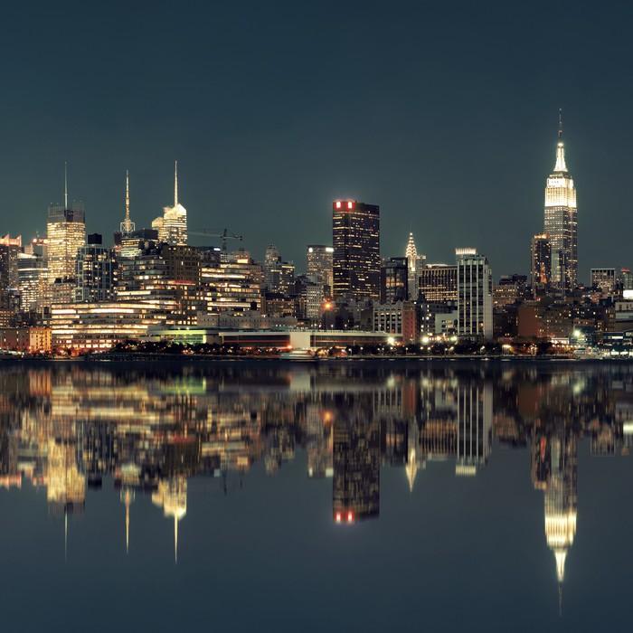 Midtown Manhattan Skyline Wall Mural Pixers We Live To Change