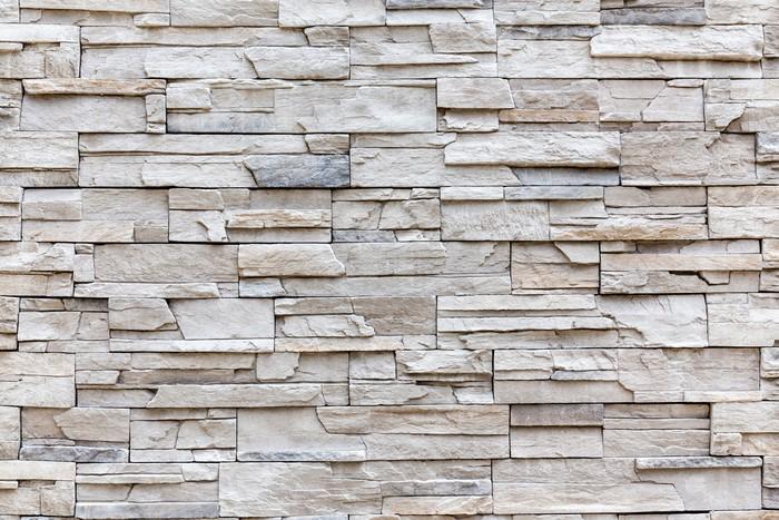 carta da parati esterno roccia muro di mattoni modello