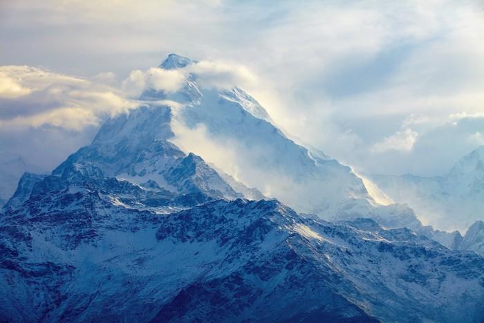 Carta da parati alba in montagna pixers viviamo per for Carta da parati per casa in montagna