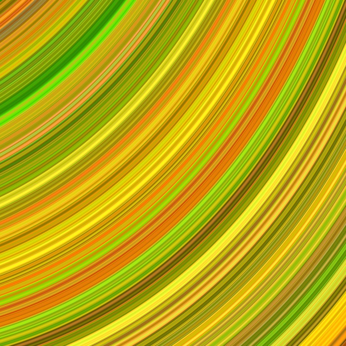 Vibrant Color Curves Abstract Background. Wall Mural