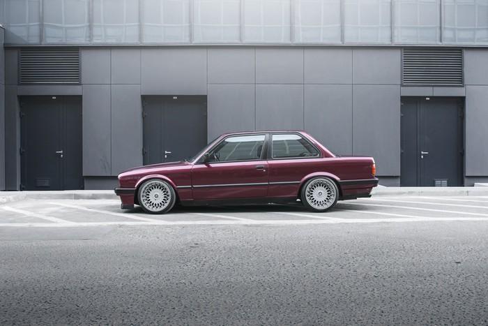 Vinylová Fototapeta BMW E30 - Vinylová Fototapeta