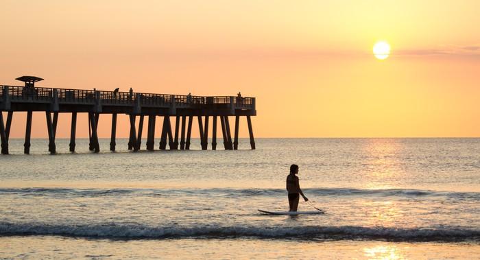 Vinylová Tapeta Jacksonville Beach, Florida - Individuální sporty