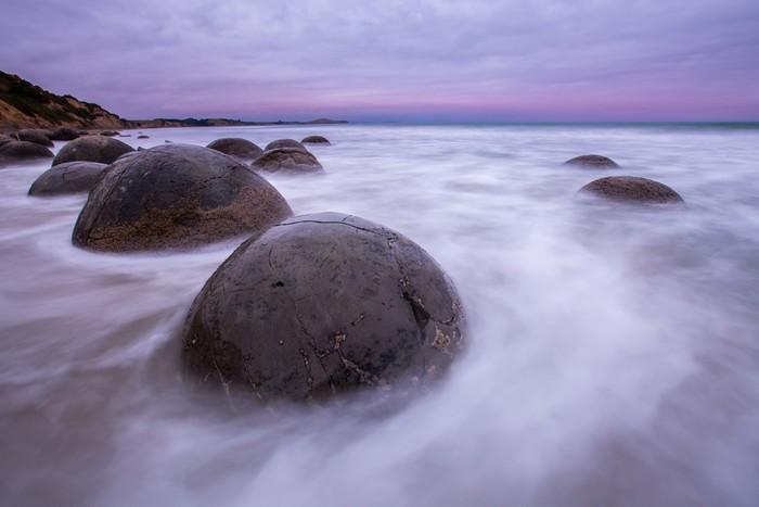 Vinylová Tapeta Moeraki Boulders, Jižní ostrov Nového Zélandu - Voda
