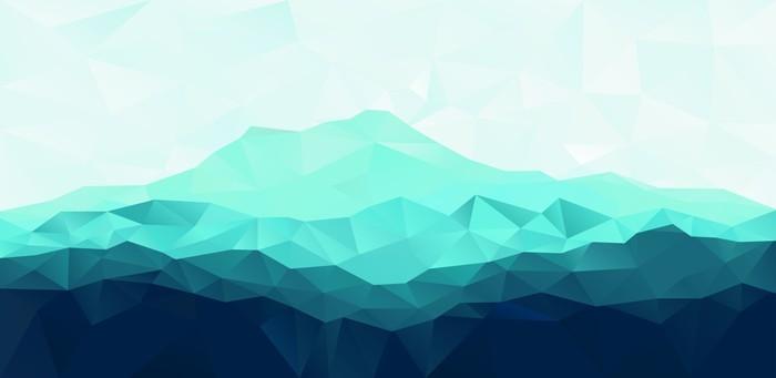 Carta da parati triangolo sfondo geometrico con montagna for Carta da parati per casa in montagna