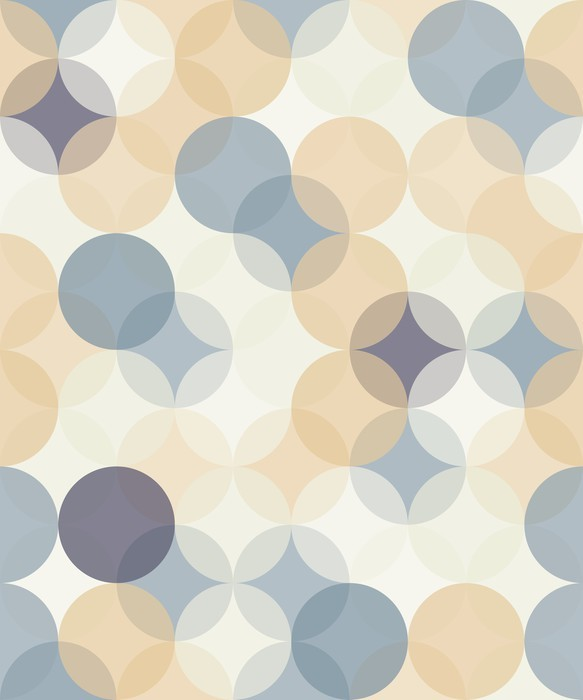 Vector modern seamless colorful geometry pattern circles ...