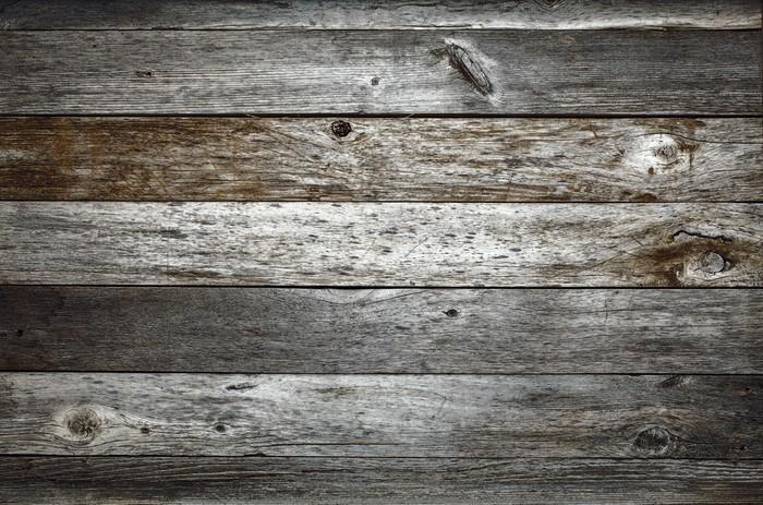 Vinilo Pixerstick Fondo oscuro madera rústica del granero • Pixers ...