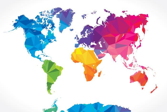 wallpaper political world map